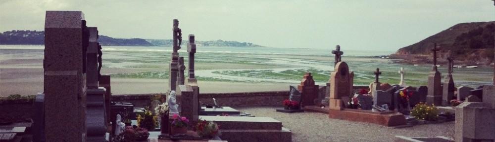 Le cimetière de St-Michel-en-Grève