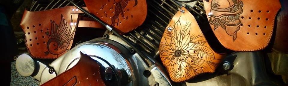 accessoires, sacoche, selle cuir pour ta motorcyclaïte